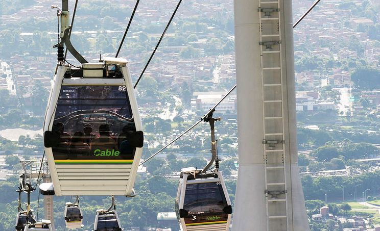 The Medellín Metrocable system, which will celebrate its 10th anniversary in August, was the first aerial cable car system in the world designed to provide mass transit.