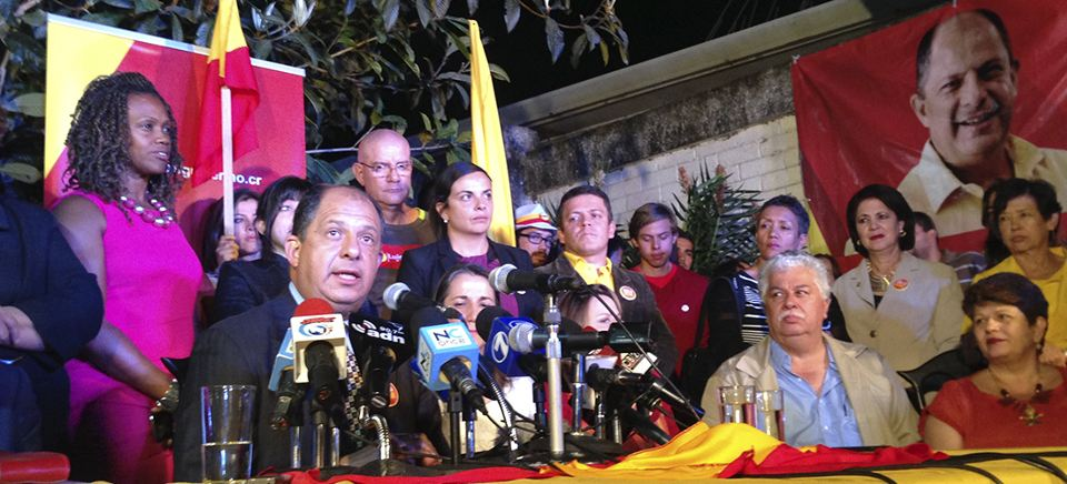 I Have Not Yet Been Elected President, Solís Reminds Supporters