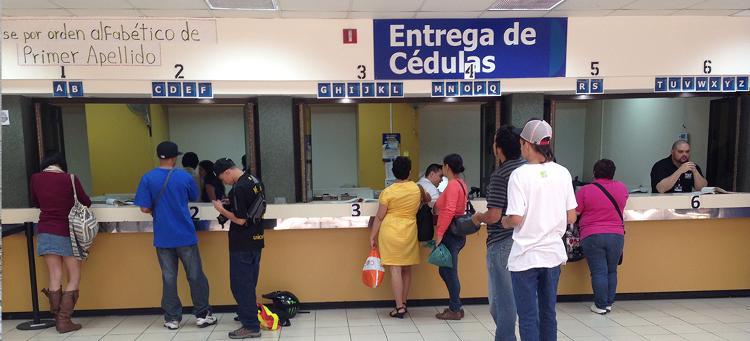 The Registro Civil.