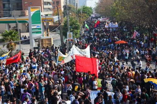 Final Preparations Arranged for Great Social March in Chile
