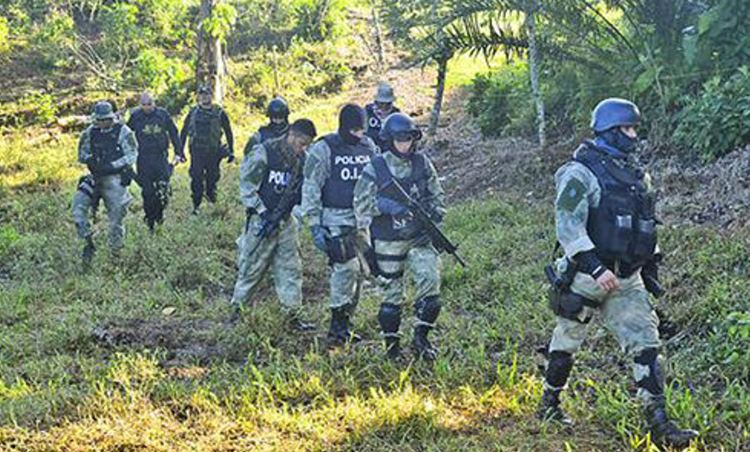 Between October and November 2013, authorities dismantled nine heliports and two camps on private estates in northern Costa Rica that were used by drug traffickers to move cocaine toward northern Central America, Mexico and the United States. | Photo cCourtesy of Costa Rica's Judicial Investigation Organization (OIJ)