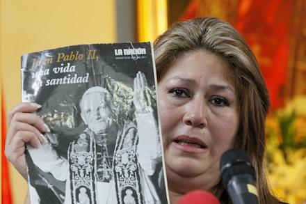 Costa Rica Vatican John Paul II Miracle Woman