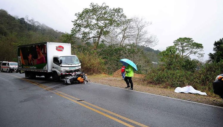 Four motorcyclists lost their lives in two days -Saturday and Sunday - on Costa Rica's roads.