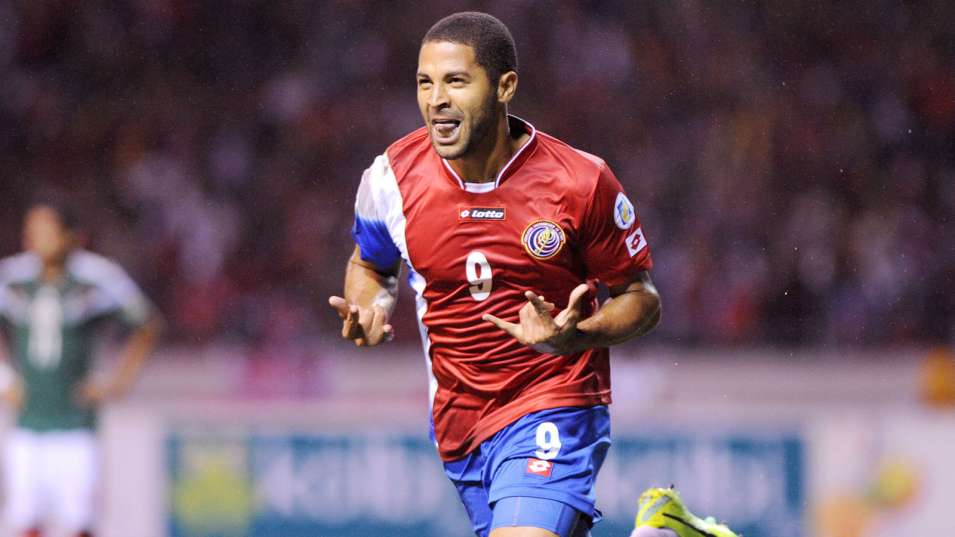 Álvaro Saborío expected to make his second World Cup appearance for Costa Rica next month, but he will instead miss out after sustaining a foot injury on Thursday.