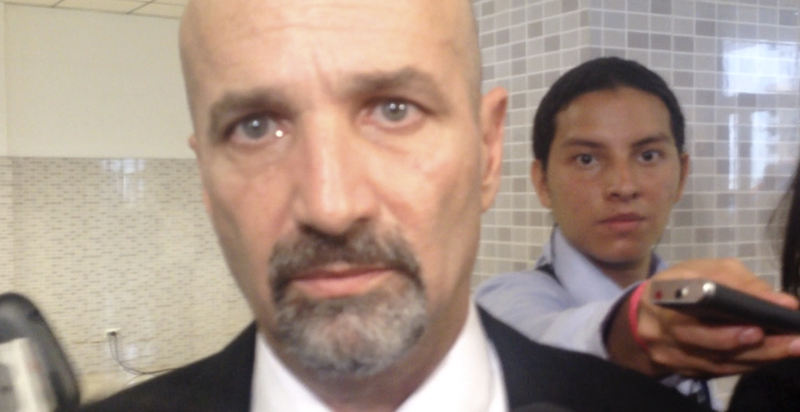 """Mariano Figueres, new head of Costa Rica's """"intelligence"""" (spy) agency. """"Those following a bad path have every reason in the world to fear DIS"""", says Figureres."""