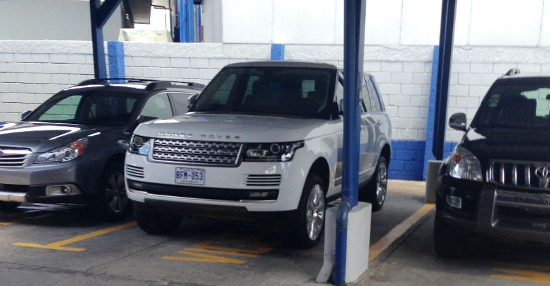 2013 Range Rover, slightly used by former president Laura Chinchilla, will be sold after President Luis Guillermo Solís refused to travel in such style.