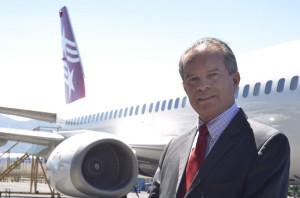 Carlos Víquez, local director of Tica Air,