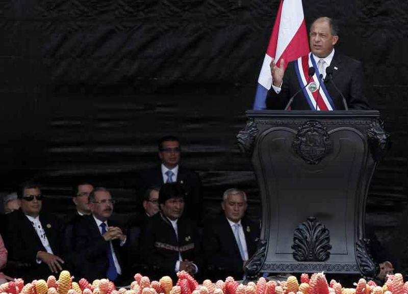 """President Solís Plans To """"Unshackle"""" Costa Rica's Dependence On U.S."""