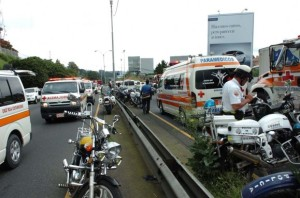 Archive photo of the traffic accident of July 24, 2008.