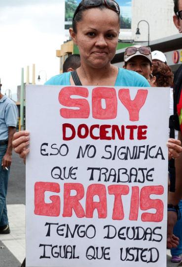 teacher-strike-costa-rica