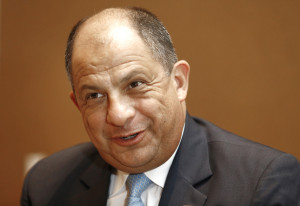 Costa Rican President Luis Guillermo Solis is interviewed at the Hilton Hotel in Santa Clara, Calif. on Monday, June 9, 2014. President Solis is visiting Silicon Valley to promote economic ties with Costa Rica. (Gary Reyes/Bay Area News Group) (Gary Reyes)