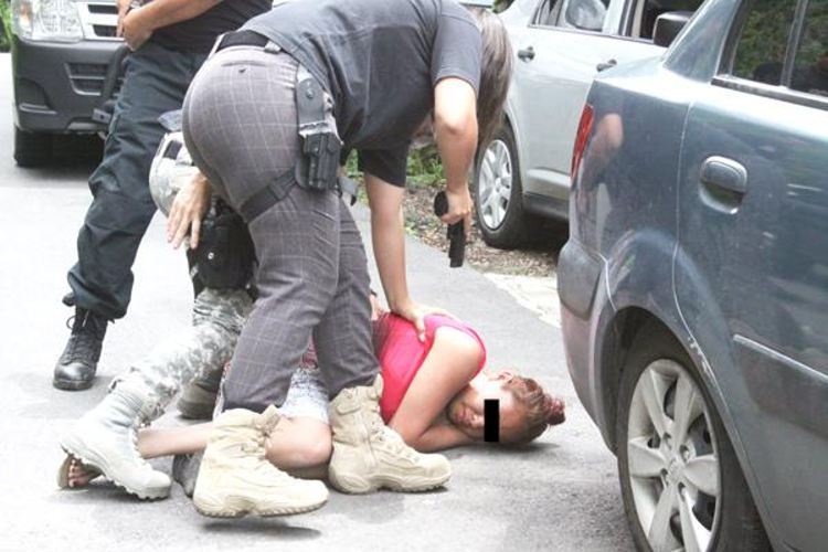 Badilla's girlfriend was also detained by police.