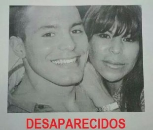 Photo circulated in the press Monday after the disappearance of mother and son.