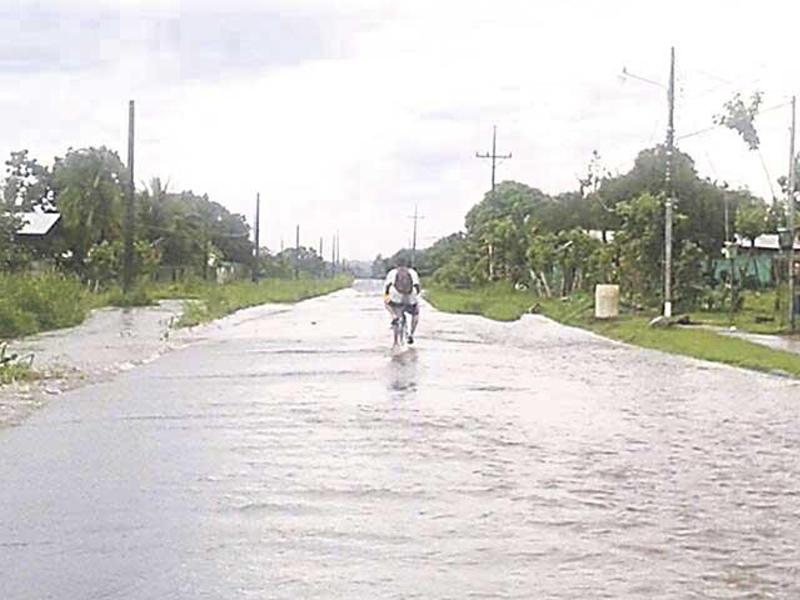 In Guacimo, residents are having to find ways of getting around.