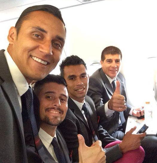 Photo from Keylor Navas Facebook page.