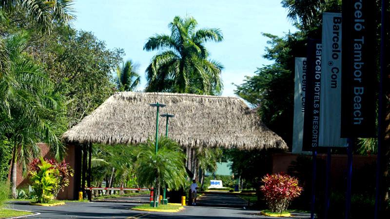 Hotel Barceló in Playa Tambor. Photo: web search