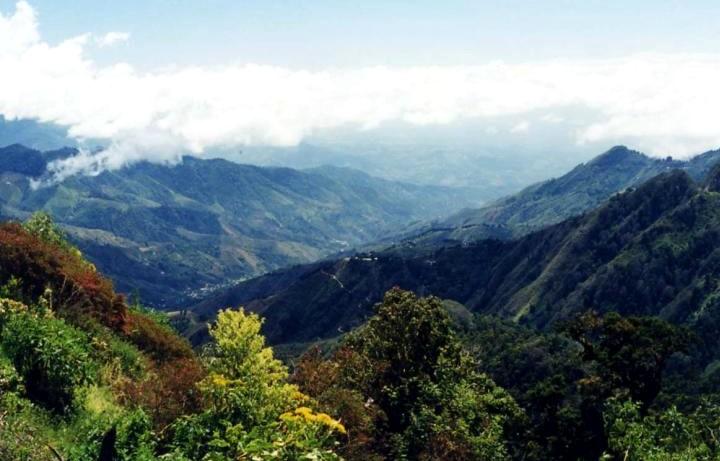 Corcovado national nark mountains.
