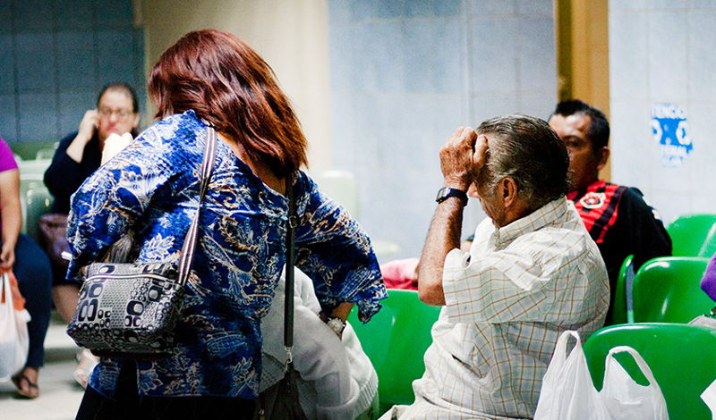 Waiting lists at state hospital and clinics are long and appointments are made for years into the future.