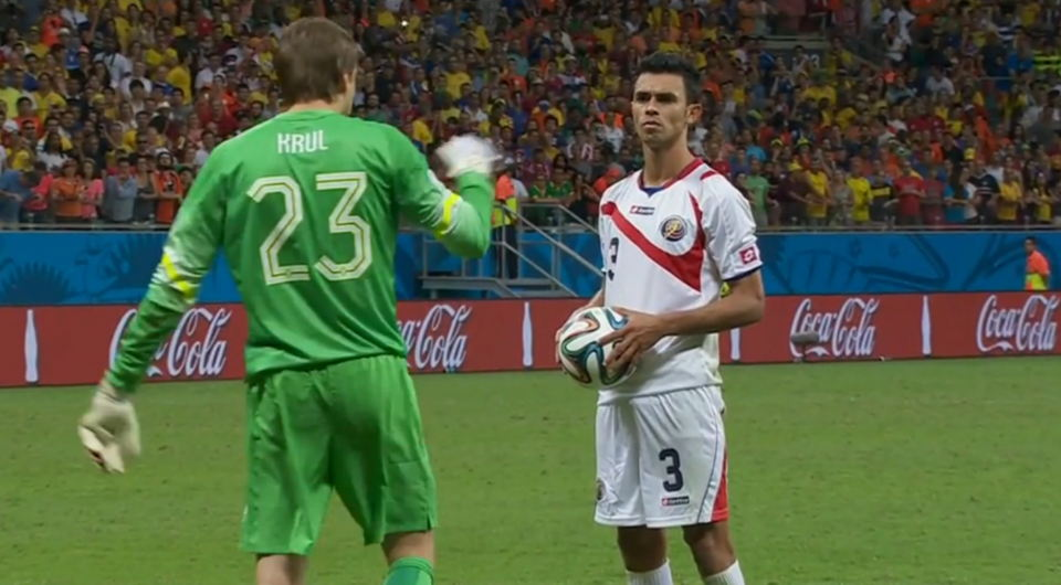 """Netherland's Goalie Said He """"Psyched Out"""" Costa Rican Players"""