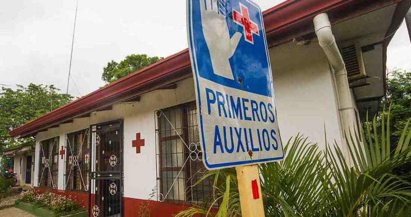 Nosara Red Cross. | Photo by Ariana Crespo