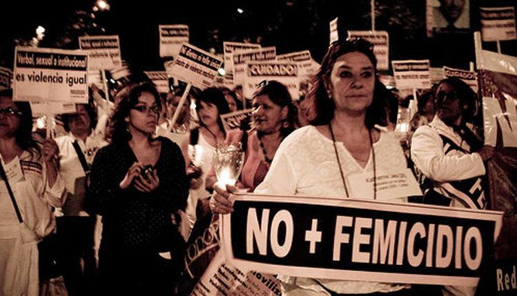"""""""No more femicide"""""""