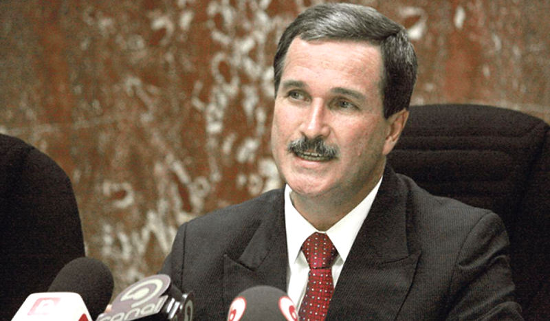 Oscar Gonzalez was fired as judge of the Supreme Court, following accusations of rape.