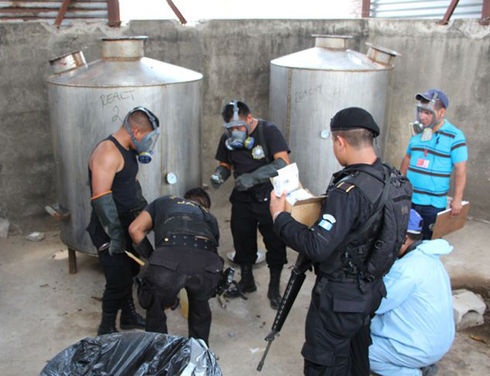 Central American Northern Tier countries combat drug labs