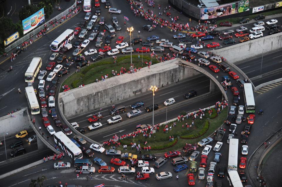 The San Sebastian intersection on La Circunvalación |Photo:  JORGE NAVARRO