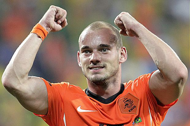 Holland's Sneijder Says Costa Rica Have More Fans