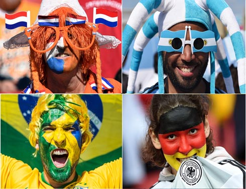 World Cup: South America versus Europe in semifinal