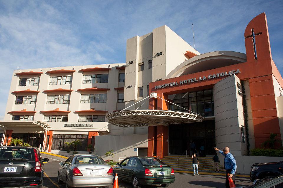The Hospital La Católica in San José, Costa Rica, where suspicions arose about transplants.  | Mónica Quesada Cordero for The New York Times