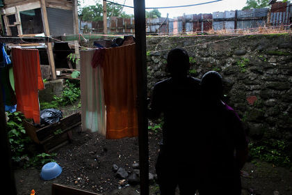 Roberto and Rosa, shown here near their home in Costa Rica, were in desperate need of money and agreed to travel to Israel to sell one of Rosa's kidneys. They were stopped at the airport in Tel Aviv and deported the next morning.  | Mónica Quesada Cordero for The New York Times