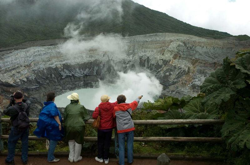 Poas Volcano. Archive photo.