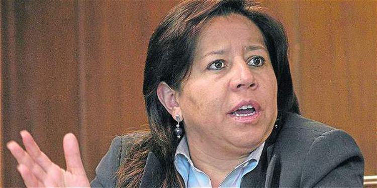 María del Pilar Hurtado, former director of Colombias Intelligence service possibly fugivite in Costa Rica. Hurtado is wanted in Colombia for espionage, embezzleme