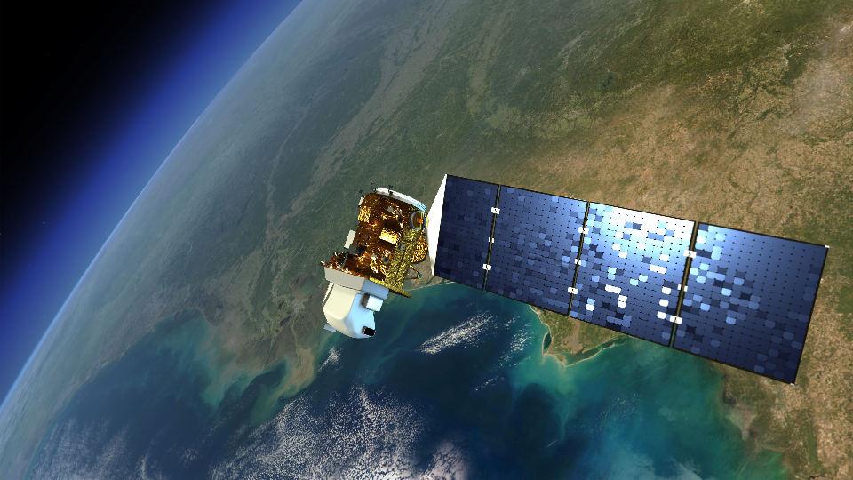 Landsat 8 photo by USGS