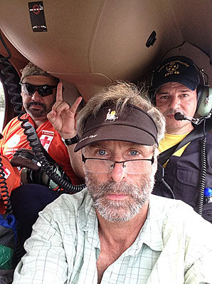 Roman and two backcountry-experienced friends from Alaska in Costa Rica searching for Cody,