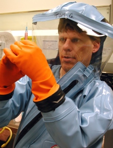 Tom Geisbert, a top expert on Ebola, says, 'This outbreak has been very different compared to any Ebola outbreak in the past.' (Univ. of Texas Medical Branch)
