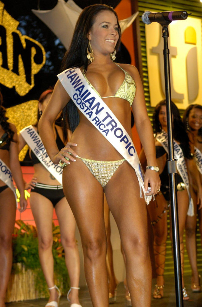Andrea Salas, 30, was crowned Miss Hawaiian Tropic in 2006.