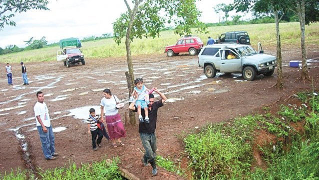 Las Tablillas de los Chiles is is a border crossing used by Nicaraguans migrating to neighboring Costa Rica. Archive photo.