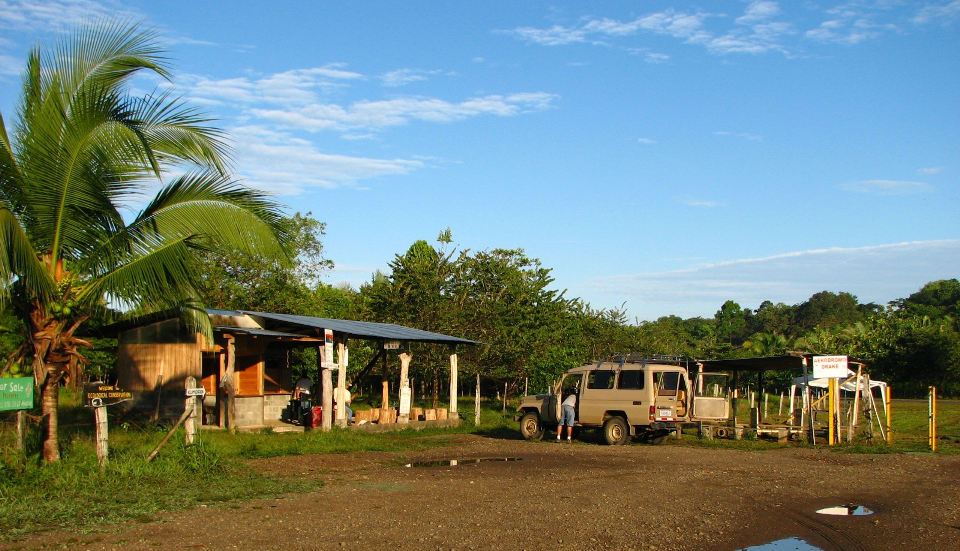 Drake Bay airport in Costa RIca's southern zone.