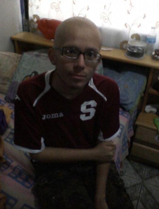 Maickol Aragon Montoya was diagnosed with acute promyelocytic leukemia three months ago.