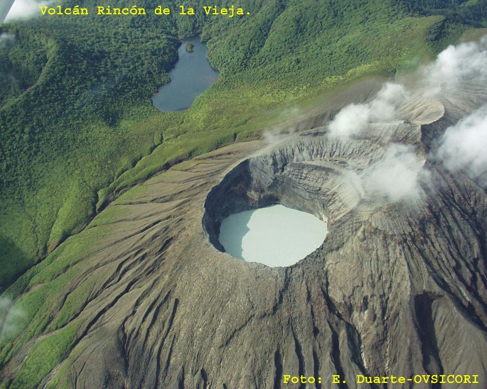 The Rincón de la Vieja is an active andesitic complex volcano in north-western Costa Rica, about 25 km from Liberia, in the province of Guanacaste.