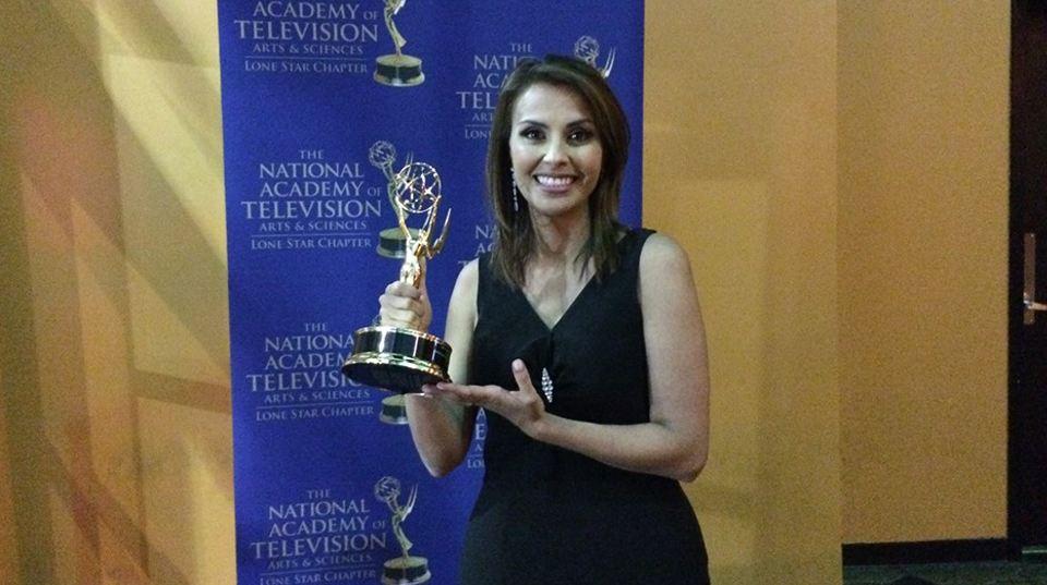 Costa Rica's Wendy Cruz Awarded Lone Star Emmy!