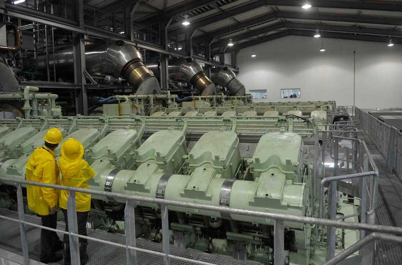 Garabito ICE Thermal plant. Photo: Marvin Caravaca / La Nacion
