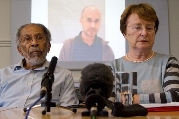 Michael Dixon in Costa Rica Hubert and Lynn Dixon attend a press conference to appeal for information on their missing son, Michael, in November, 2009.