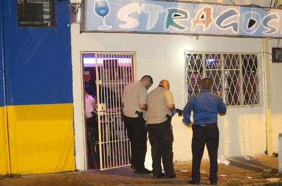 Guadalupe bar where jusge was killed. Photo Rafael Pacheco