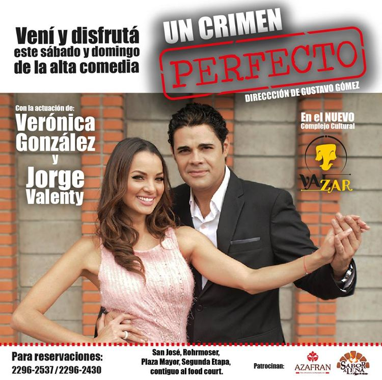 Former Miss Costa Rica Veronica Gonzalez Star Of Theatre