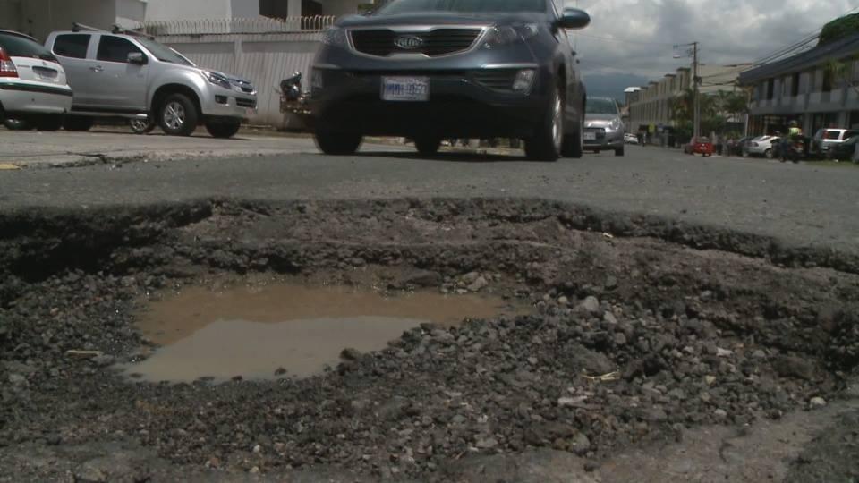 The potholes of Costa Rica