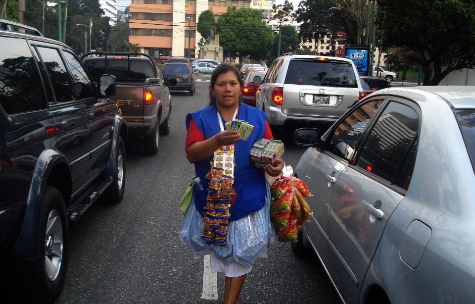 Women Eke Out a Living in Informal Economy