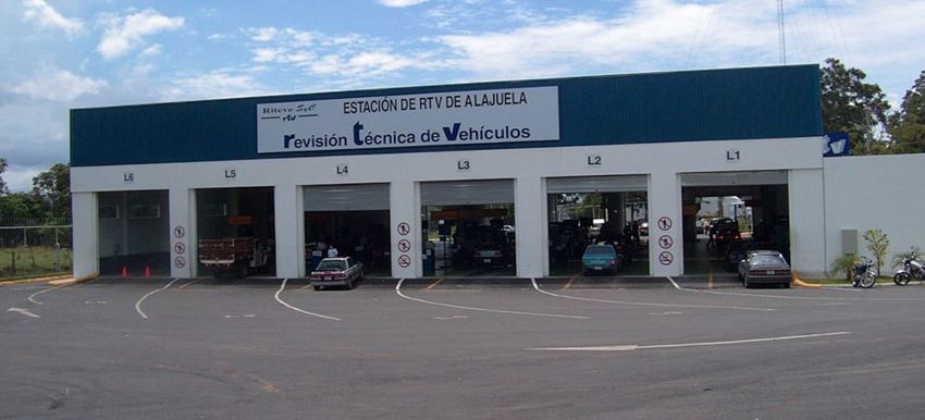 Typical Riteve vehicular inspection station